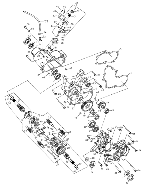 small resolution of go cart differential diagram