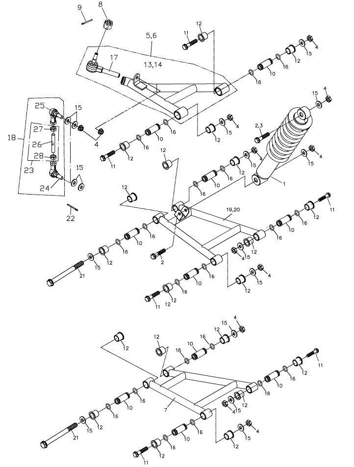 Arm (Adly Mini Car 320)