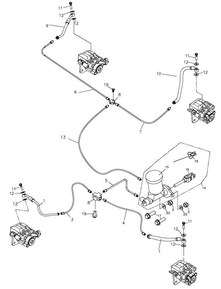 Brake System (Adly Mini Car 320)