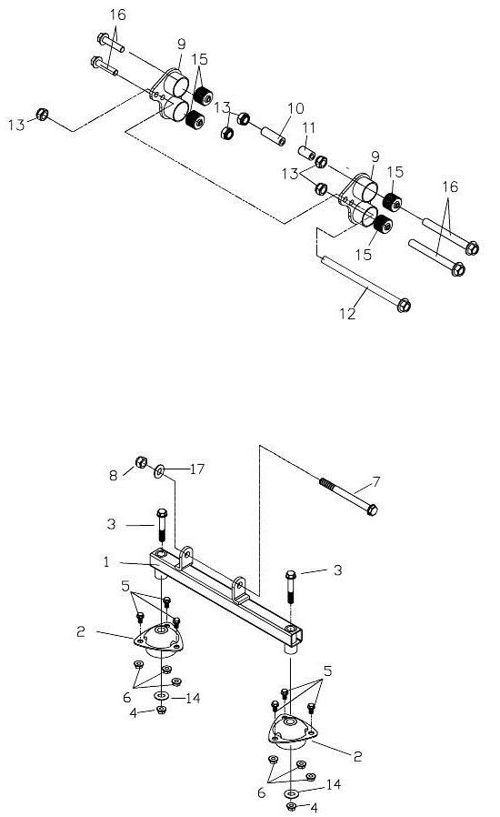 Engine Bracket (Adly Mini Car 320)
