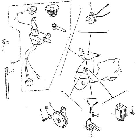 Electric Equipment (I) (Silver Fox (4 Stroke))