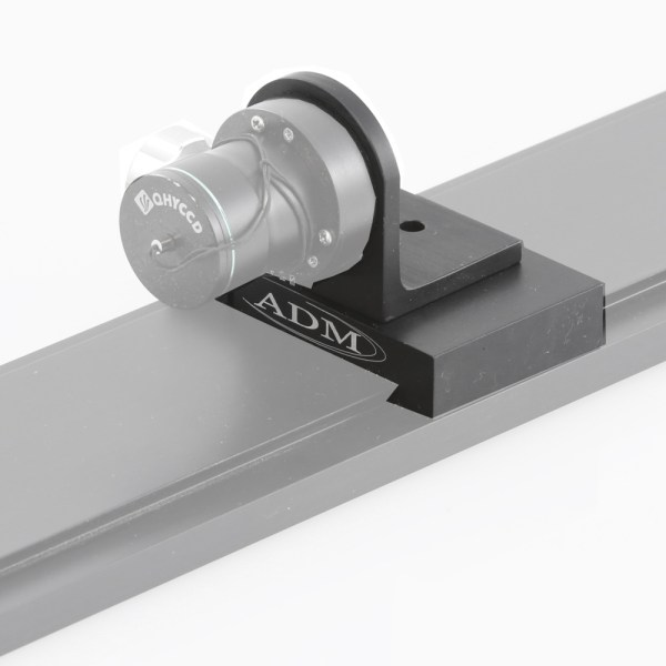 ADM Accessories | D Series | Miscellaneous | DPA-POLE | DPA-POLE- D Series Dovetail Adapter for PoleMaster Mounting - Installed | Image 2