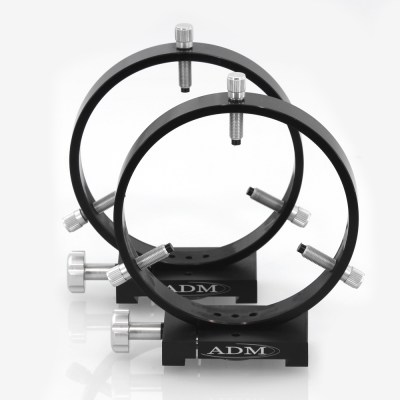 ADM Accessories | D Series | Dovetail Ring | DR150 | DR150- D Series Ring Set. 150mm Adjustable Rings | Image 1