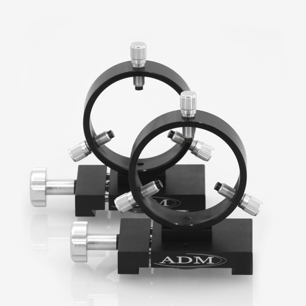 ADM Accessories | D Series | Dovetail Ring | DR75 | DR75- D Series Ring Set. 75mm Adjustable Rings | Image 1