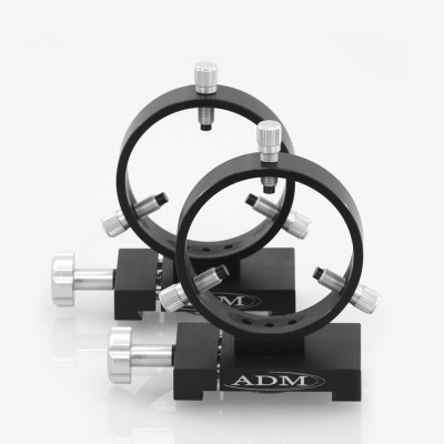 ADM Accessories | D Series | Dovetail Ring | DR90 | DR90- D Series Ring Set. 90mm Adjustable Rings | Image 1