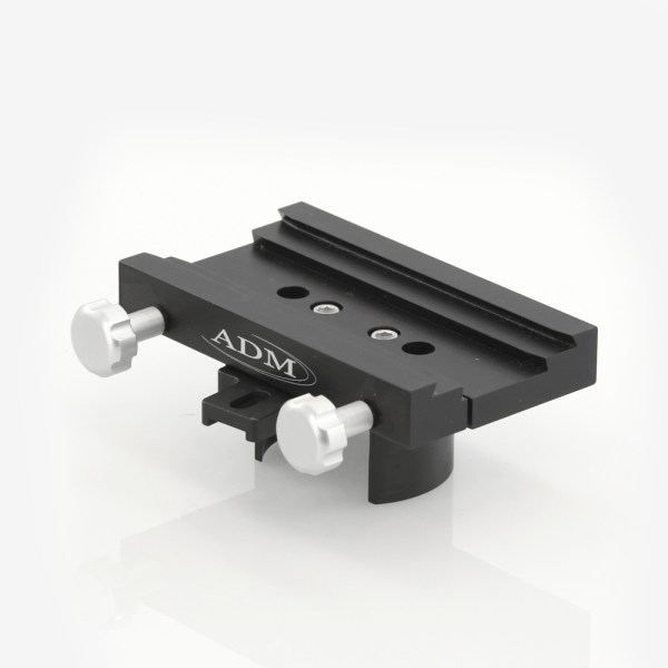 ADM Accessories | DV Series | Dovetail Saddle | DUAL-CG5 | DUAL-CG5- DUAL Series Saddle. Fits Celestron CG5 Mounts | Image 1