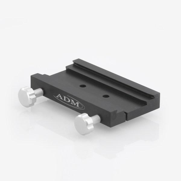 ADM Accessories   DV Series   Dovetail Saddle   DUAL-STD   DUAL-STD- DUAL Series Saddle. Standard Hole Version   Image 1