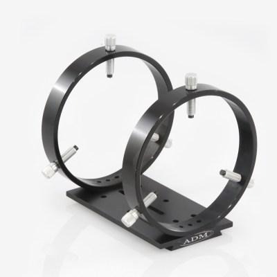 ADM Accessories | D Series | Dovetail Ring | DUPR150 | DUPR150- D Series Universal Ring Set. 150mm Adjustable Rings | Image 1