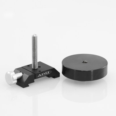 ADM Accessories | DV Series | Dovetail Counterweight | DVCW-S | DVCW-S- D and V Series Counterweight with 3″ Threaded Rod | Image 1