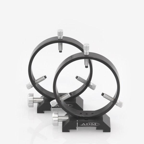 ADM Accessories | DV Series | Dovetail Ring | DVR125 | DVR125- D Series Ring Set. 125mm Adjustable Rings | Image 1