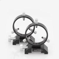 DVR90- D Series Ring Set.  90mm Adjustable Rings