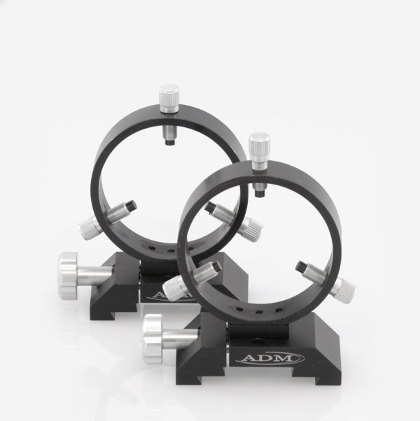 ADM Accessories | DV Series | Dovetail Ring | DVR90 | DVR90- D Series Ring Set. 90mm Adjustable Rings | Image 1