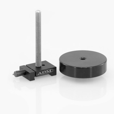 ADM Accessories | V Series | Dovetail Counterweights | VCW | VCW- V Series Counterweight with 5″ Threaded Rod | Image 1