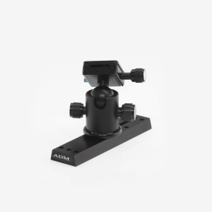 ADM Accessories | V Series | Dovetail Camera Mount | VDUP-BCM | VDUP-BCM- V Series Universal Dovetail Ballhead Camera Mount - Installed | Image 1