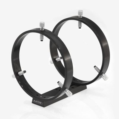 ADM Accessories | V Series | Dovetail Ring | VDUPR175 | VDUPR175- V Series Universal Dovetail Ring Set. 175mm Adjustable Rings | Image 1