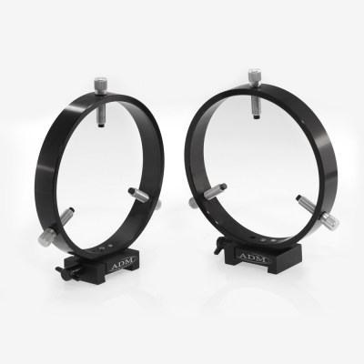 ADM Accessories | V Series | Dovetail Ring | VR150 | VR150- V Series Dovetail Ring Set. 150mm Adjustable Rings | Image 1