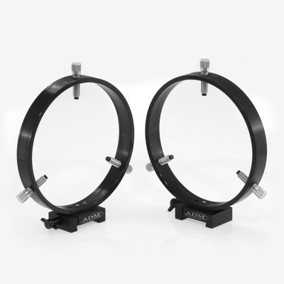 ADM Accessories | V Series | Dovetail Ring | VR175 | VR175- V Series Dovetail Ring Set. 175mm Adjustable Rings | Image 1