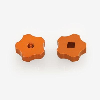 ADM Accessories | Miscellaneous | Thumb Screws - Hand Knobs | CGEM-SB | Celestron CGEM Spreader Bar Knobs - Orange | Image 1
