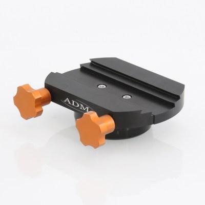 ADM Accessories | DV Series | Dovetail Saddle | DUAL-CGEM-II | DUAL-CGEM-II- DUAL Series Saddle. Fits Celestron CGEM Mounts | Image 1