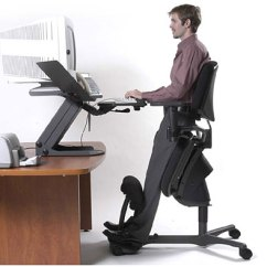 Ergonomic Chair Kneeling Foldable Office With Wheels Radical New Workstation | Impact Lab