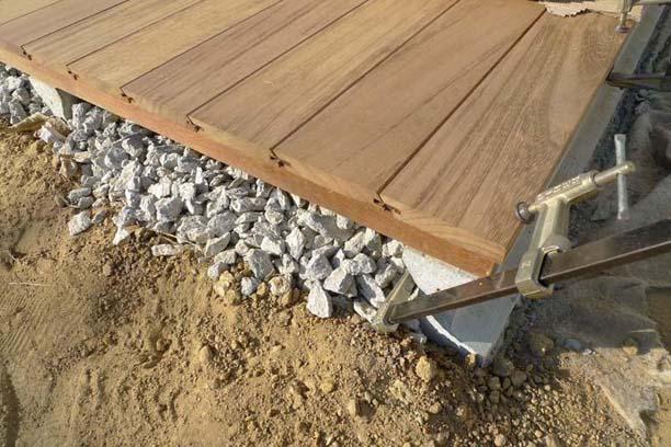 Pavimento exterior de madera - Pavimento de exterior ...