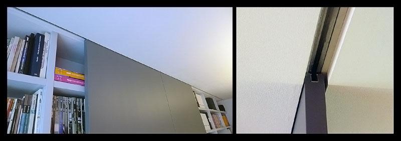Puertas correderas empotradas en techo - Sistema para puertas correderas ...