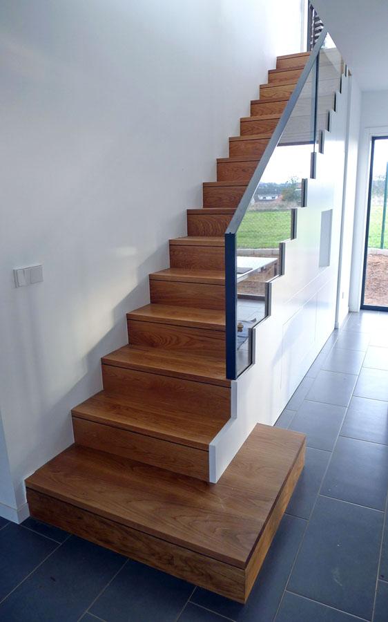 Escalera interior vivienda en r a aba - Escaleras para sotanos ...