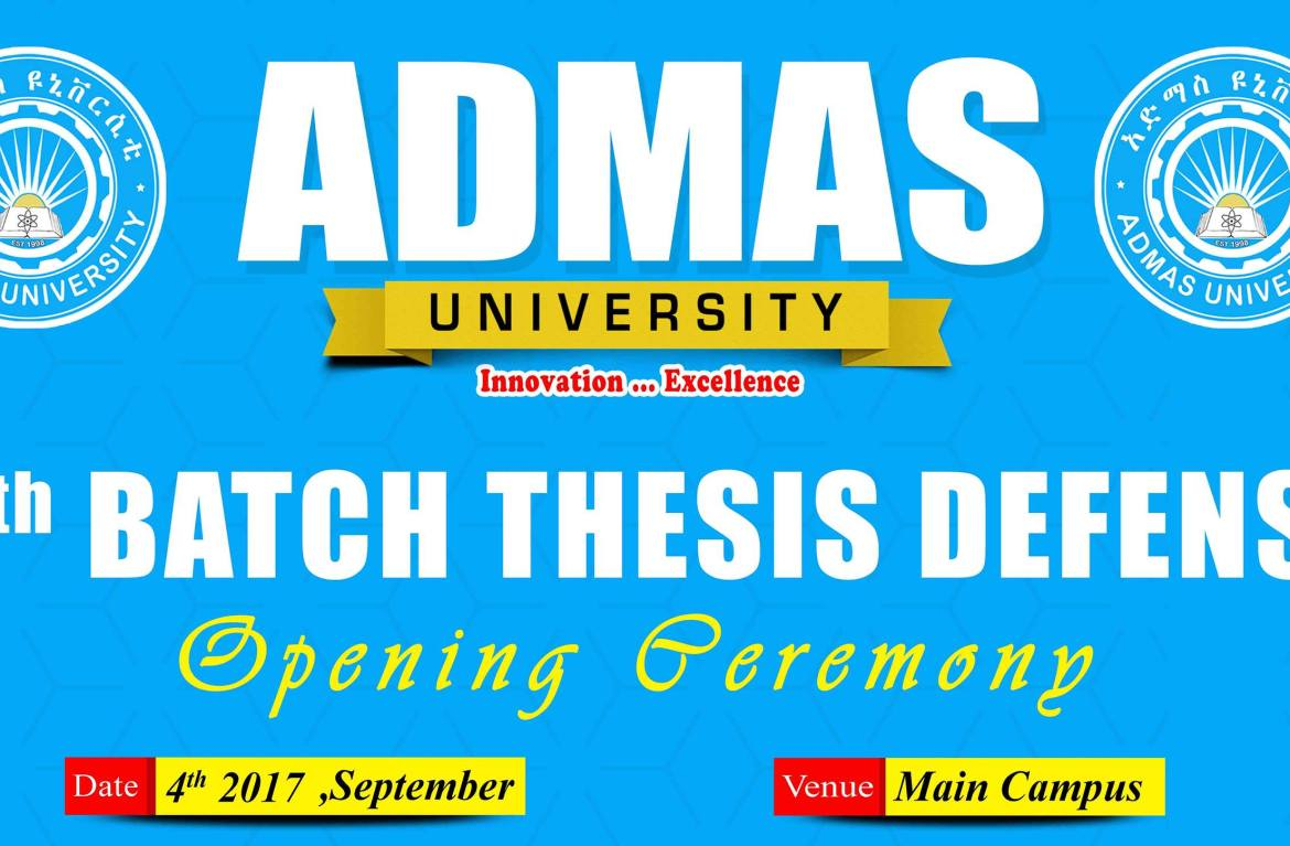 9th Batch Thesis Defence