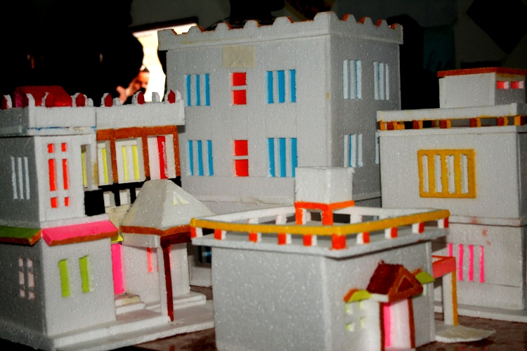 Architecture Students' Exhibition Projects at the Main Campus'
