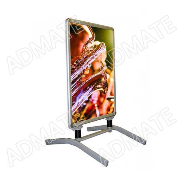 outdoor poster stand display