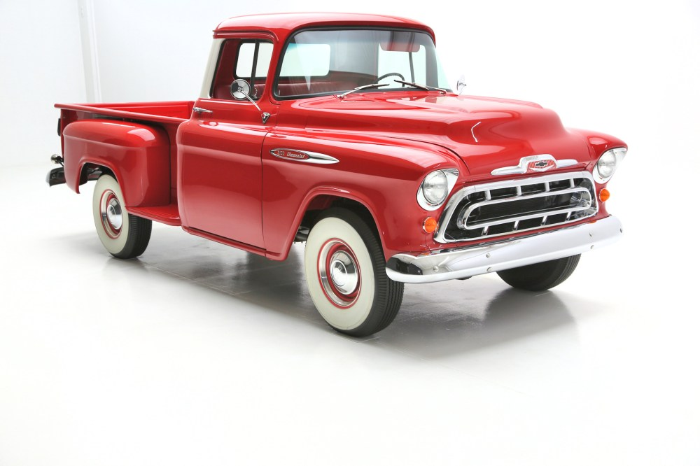 medium resolution of watch video watch video for sale used 1957 chevrolet pickup awesome truck american dream machines des moines ia 50309