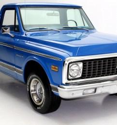 1971 chevrolet c10 pickup short box 2wd [ 1807 x 1130 Pixel ]