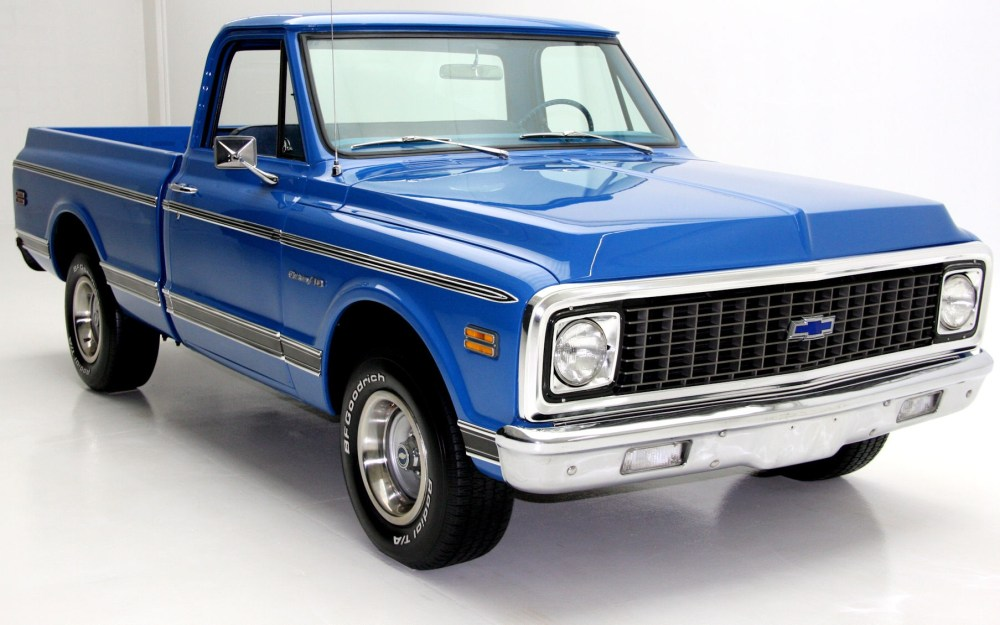 medium resolution of 1971 chevrolet c10 pickup short box 2wd