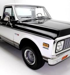 1971 chevrolet cheyenne c10 pickup black factory ac [ 1920 x 1280 Pixel ]