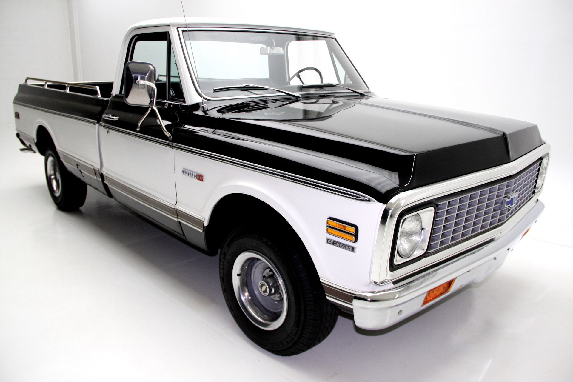 hight resolution of 1971 chevrolet cheyenne c10 pickup black factory ac