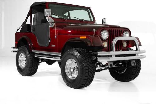 small resolution of 1978 jeep cj5 brandywine show jeep v8