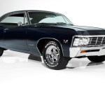 1967 Chevrolet Impala Dark Blue Ss 396 4 Speed