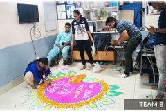 team-b-making-rangoli