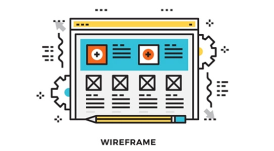 Working on Wireframes