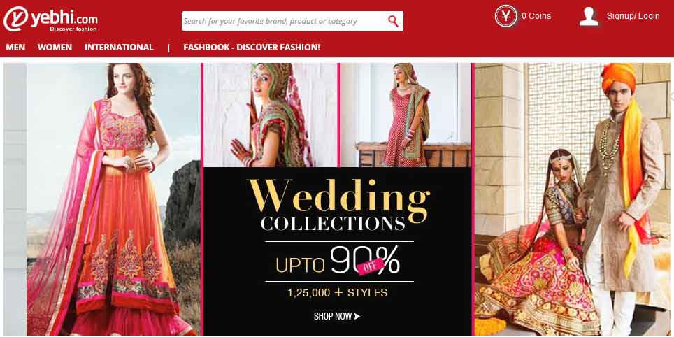 yebhi web E-commerce