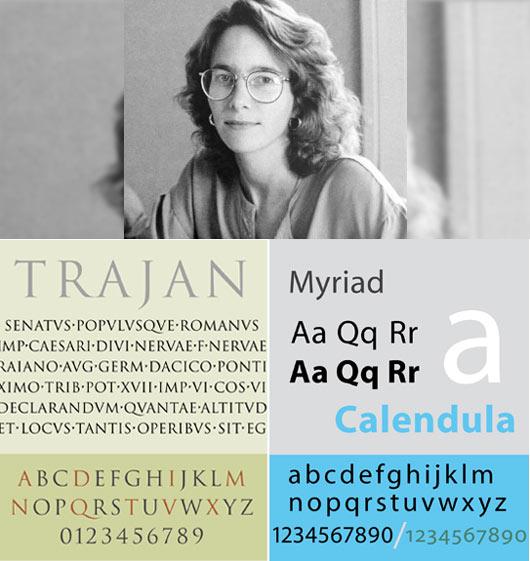 Typographer Carol Twombly