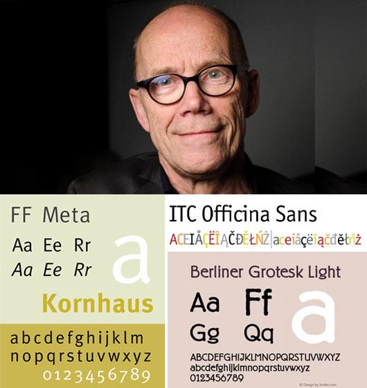 Typographer Erik Spiekermann