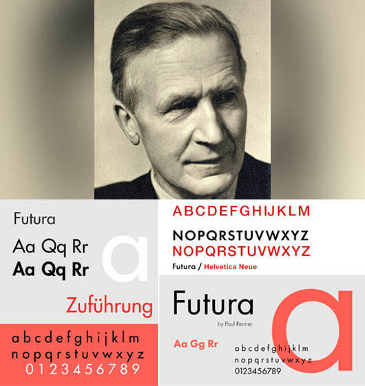 Typographer Paul Renner