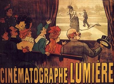 World's first film poster L'Arroseur arrosé
