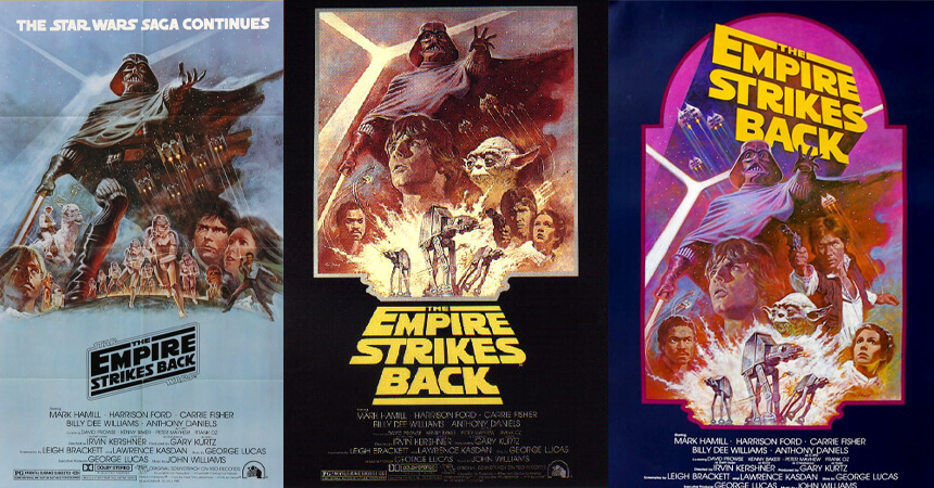 Re-released movie posters