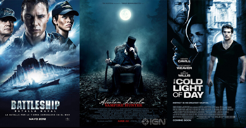 Blue theme posters