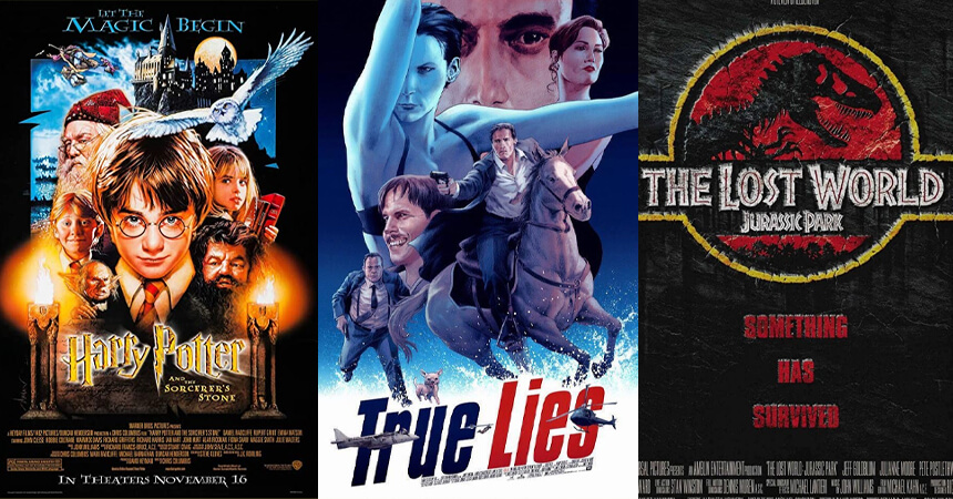Lenticular movie posters