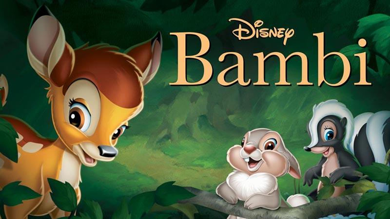 World's Popular 3D Animation Movies: Bambi