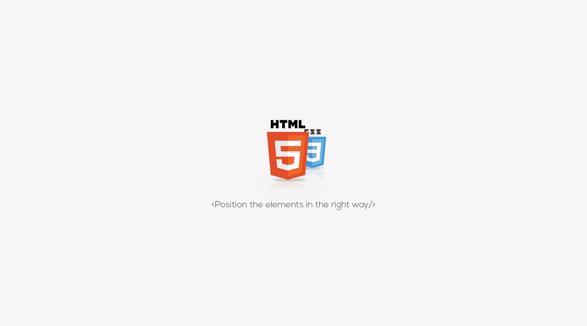 Position the Elements in HTML & CSS | HTML5 & CSS3 Courses