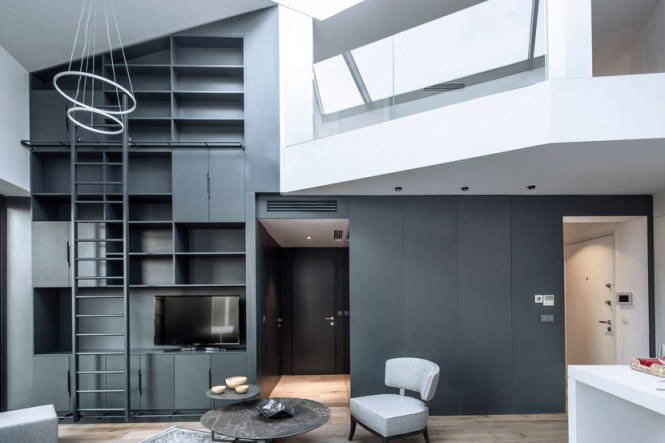 A Modern Apartment Completes In